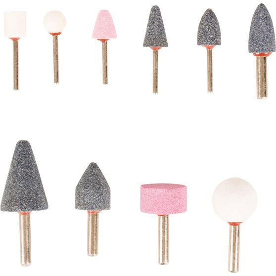 ToolPRO Mounted Stone Set - 10 Pieces, , scaau_hi-res