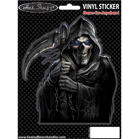 Hot Stuff Sticker - Reaper, Chrome, , scaau_hi-res