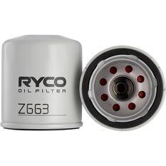 Ryco Oil Filter Z663, , scaau_hi-res