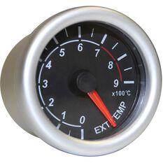 SAAS Autoline Gauge - Black Face, 52mm, Exhaust Temperature, , scaau_hi-res