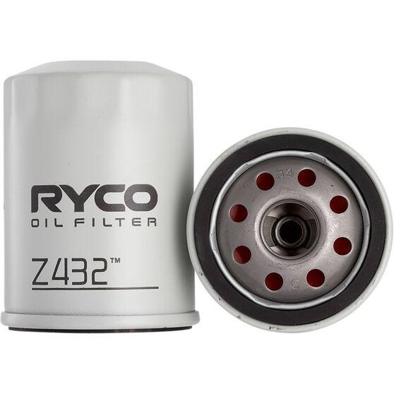 Ryco Oil Filter - Z432, , scaau_hi-res