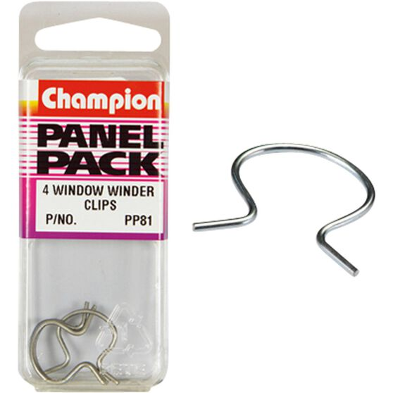Champion Window Winder Clips - PP81, Panel Pack, , scaau_hi-res