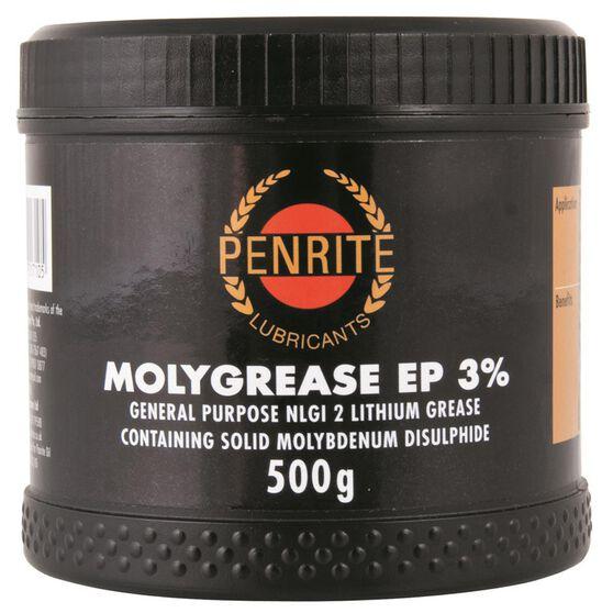 Penrite Moly Grease Tub - 500g, , scaau_hi-res