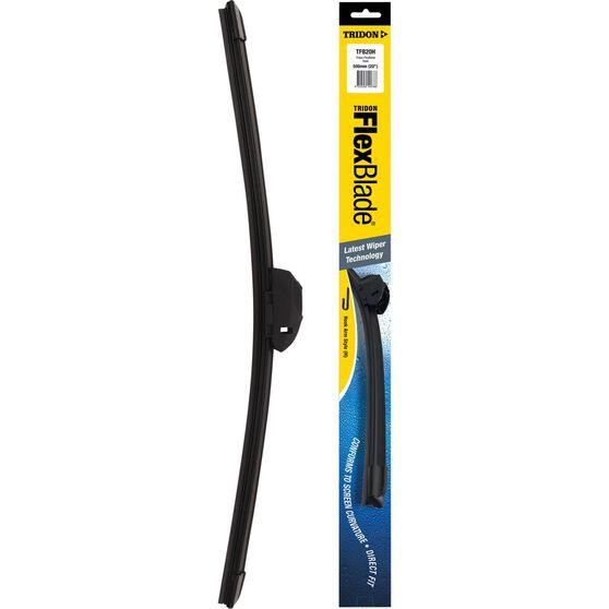 Tridon Flex Blade Single Wiper - 20in, Hook, , scaau_hi-res