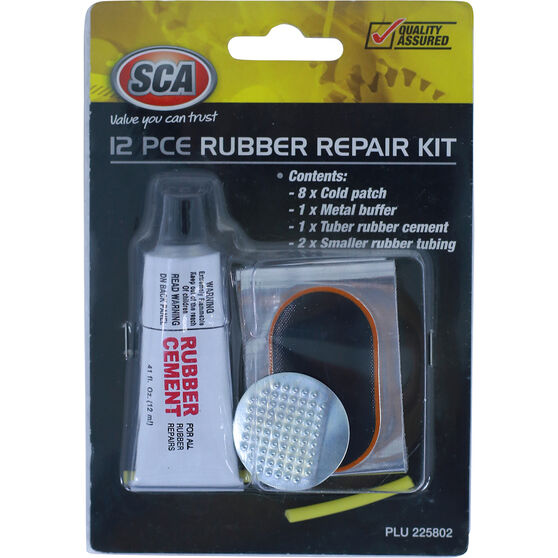 SCA Rubber Repair Kit - 12 Piece, , scaau_hi-res
