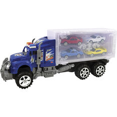 Plastic Truck Carrier with vehicles, , scaau_hi-res