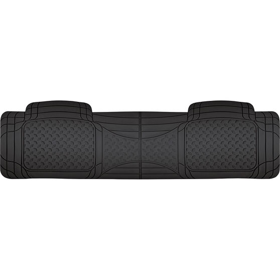 SCA Car Floor Mat - Rubber, Black, Rear, Single Rear, , scaau_hi-res