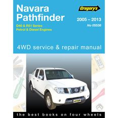 Car Manual For Navara / Pathfinder D40 - 538, , scaau_hi-res