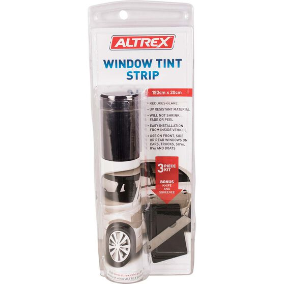 Altrex Window Tint Strip - 20cm x 183cm, Charcoal, , scaau_hi-res