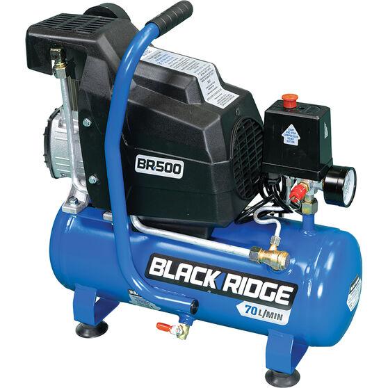 Blackridge Air Compressor 1HP Direct Drive 8 Litre tank, , scaau_hi-res