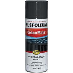 Rust-Oleum Aerosol Paint - Colourmate, Basalt 312g, , scaau_hi-res