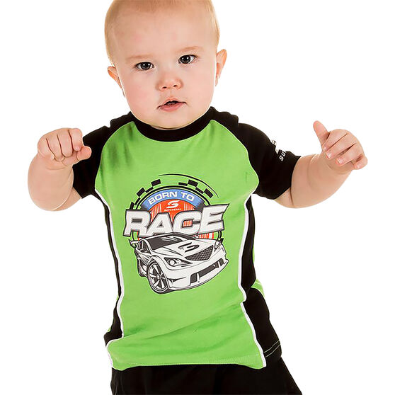 Supercars Babies T-Shirt - Green 1, , scaau_hi-res