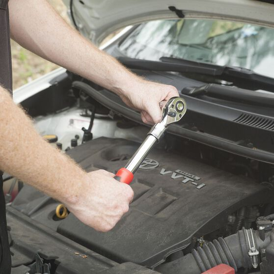 ToolPRO Ratchet Handle - Adjustable, 3 / 8 inch Drive, , scaau_hi-res