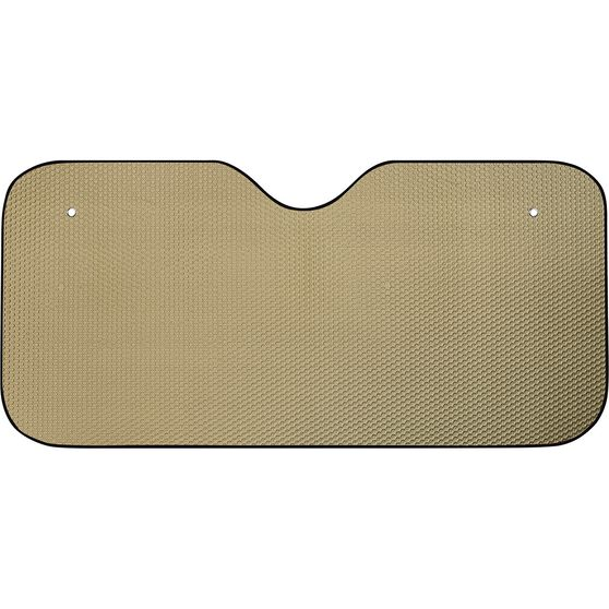 SCA Bubble Sunshade - Matte Gold, Accordion, Front, , scaau_hi-res