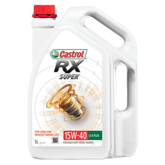 Castrol RX Super Diesel Engine Oil - 15W-40 5 Litre, , scaau_hi-res