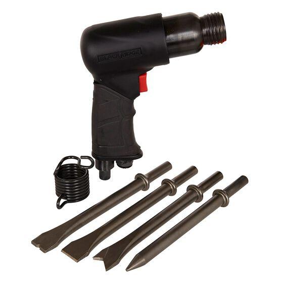 Blackridge Air Hammer & 4 Piece Chisels - 175mm, , scaau_hi-res