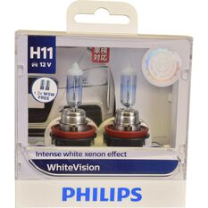 Philips WhiteVision Headlight Globe - 55W, H11, , scaau_hi-res