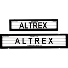 Altrex Number Plate Protector - 6 Figure, European Combo, With Lines, 6LEP, , scaau_hi-res