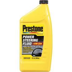 Prestone Power Steering Fluid with Stop Leak 946mL, , scaau_hi-res