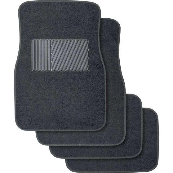 Best Buy Car Floor Mats - Carpet, Charcoal, Set of 4, , scaau_hi-res