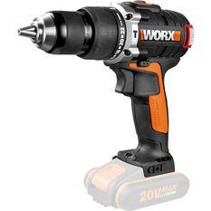 Worx Brushless Hammer Drill Skin 20V Li-Ion, , scaau_hi-res