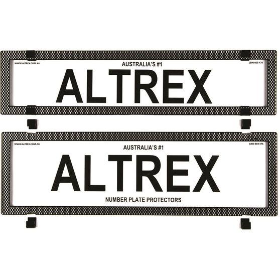 Altrex Number Plate Protector - 6 Figure Premium Clear 6SESP, , scaau_hi-res