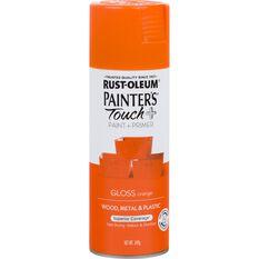 Rustoleum Aerosol Paint - Painters Touch Plus, Gloss Orange, , scaau_hi-res