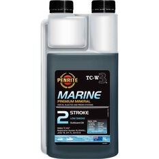 Penrite Marine 2 Stroke Outboard Engine Oil 1 Litre, , scaau_hi-res