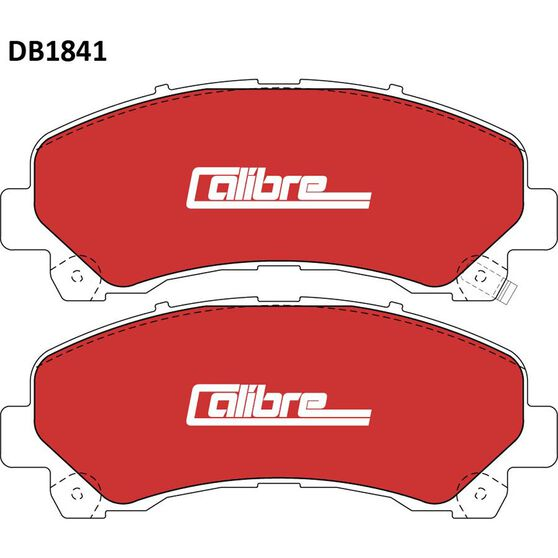 Calibre Disc Brake Pads DB1841CAL, , scaau_hi-res