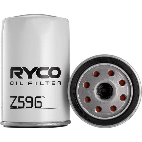 Ryco Oil Filter - Z596, , scaau_hi-res