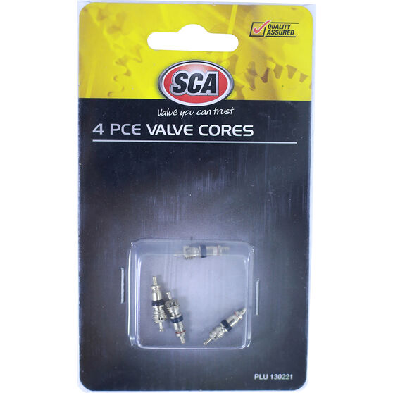SCA Valve Cores - 4 Piece, , scaau_hi-res