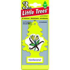 Little Trees Air Freshener - Vanillaroma, 3 Pack, , scaau_hi-res