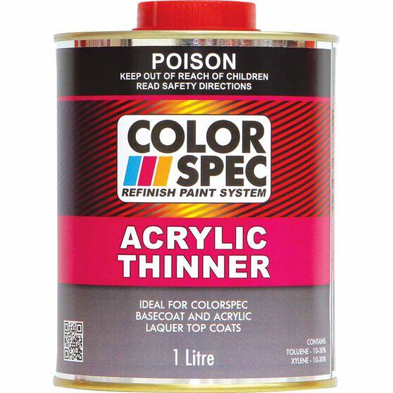 ColorSpec Acrylic Thinner - 1 Litre, , scaau_hi-res