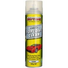 Septone Acrylic Aerosol Paint - Clear Topcoat, 400g, , scaau_hi-res