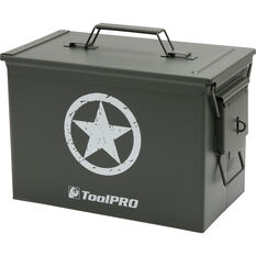 ToolPRO Army Star Metal Ammunition Case, , scaau_hi-res