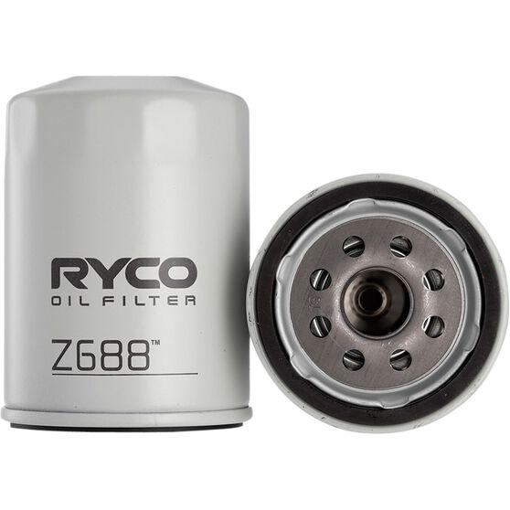 Ryco Oil Filter - Z688, , scaau_hi-res