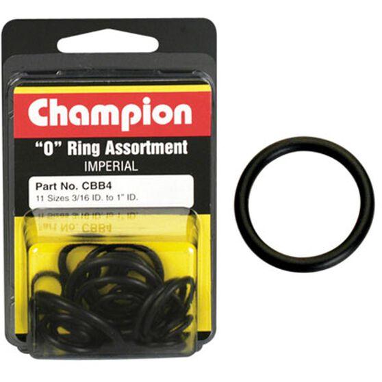 Champion O Ring Pack- 3 / 16-1ID, CBB4, , scaau_hi-res