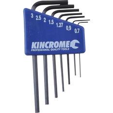 Kincrome Mini Hex Keys Metric 7 Piece, , scaau_hi-res