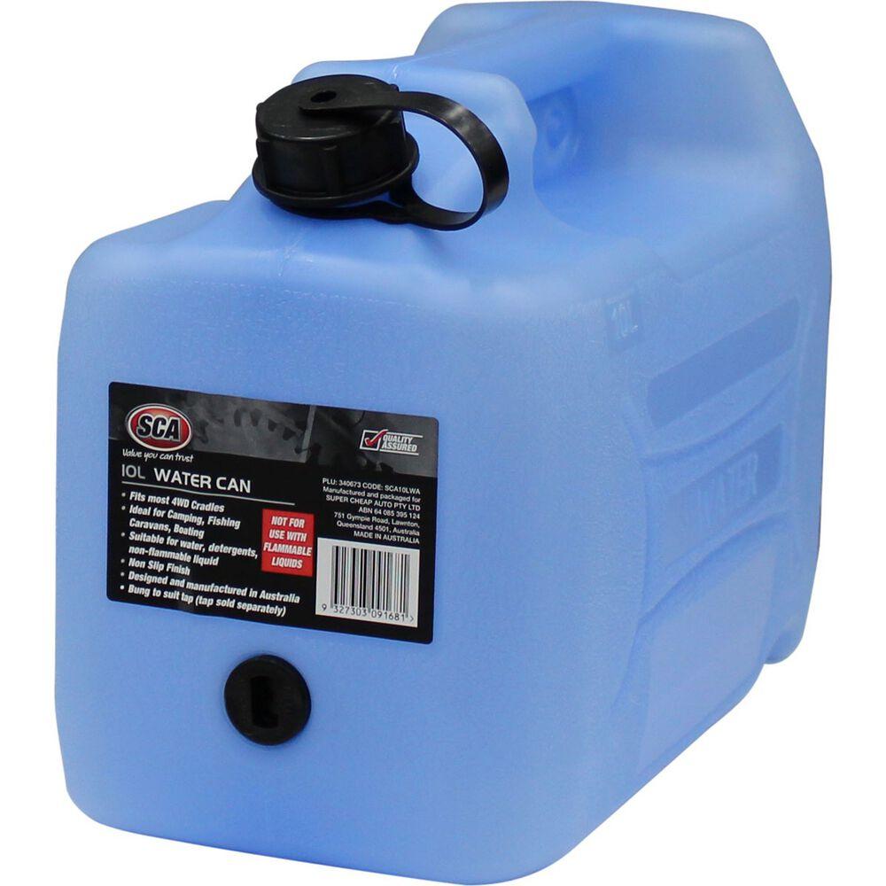 Sca Water Carry Can 10 Litre Blue Supercheap Auto
