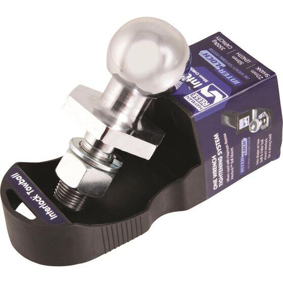 Hayman Reese Interlock Tow Ball - Chrome, 50mm, , scaau_hi-res