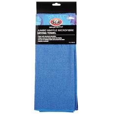 SCA Jumbo Waffle Microfibre Towel - 770 x 620mm, , scaau_hi-res