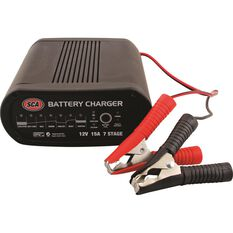 Battery Charger - 7 Stage, 12 Volt, 15 Amp, , scaau_hi-res