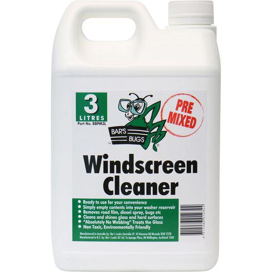 Bar's Bugs Pre-mix Windscreen Cleaner - 3 Litre, , scaau_hi-res