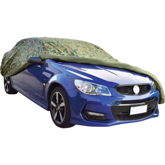 SCA Extra Large Camouflage Car Cover, , scaau_hi-res