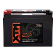 XTM Deep Cycle AGM Battery DC12-100AGM, , scaau_hi-res