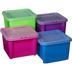 Plastic Storage Bin Lid, 30 Litre, , scaau_hi-res