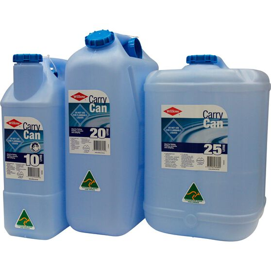 Willow Water Carry Can - 25 Litre, Blue, , scaau_hi-res