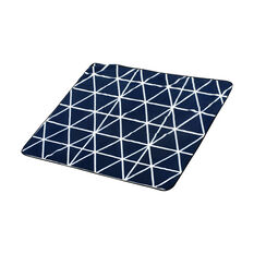 SCA Travel Blanket - Navy and White, 1.5m x 1.5m, , scaau_hi-res