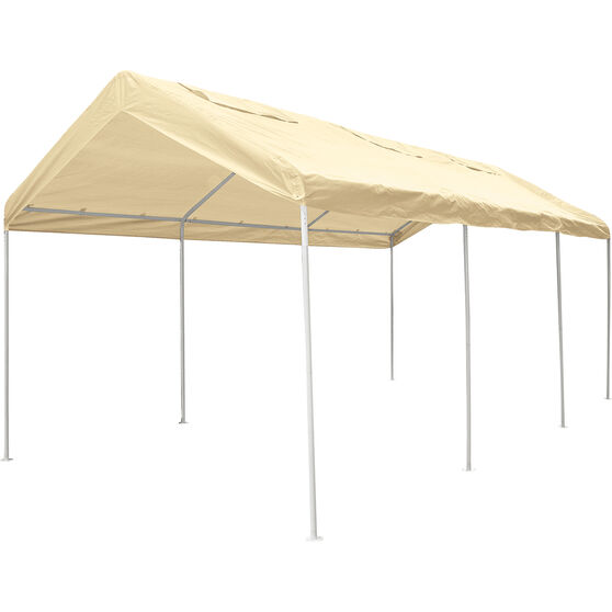 CoverALL Carport Replacement Tarp - 3 x 6m, Beige, , scaau_hi-res