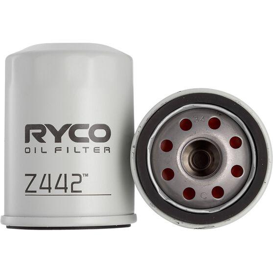 Ryco Oil Filter - Z442, , scaau_hi-res